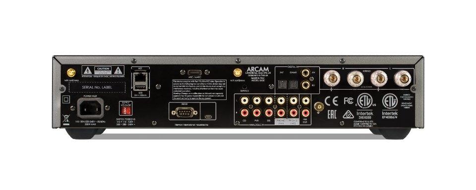 ARCAM SA30 Rückseite