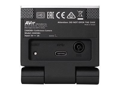 Videokonferenzkamera AVER CAM340+ rückansicht