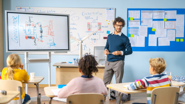 digitale Klassenzimmer