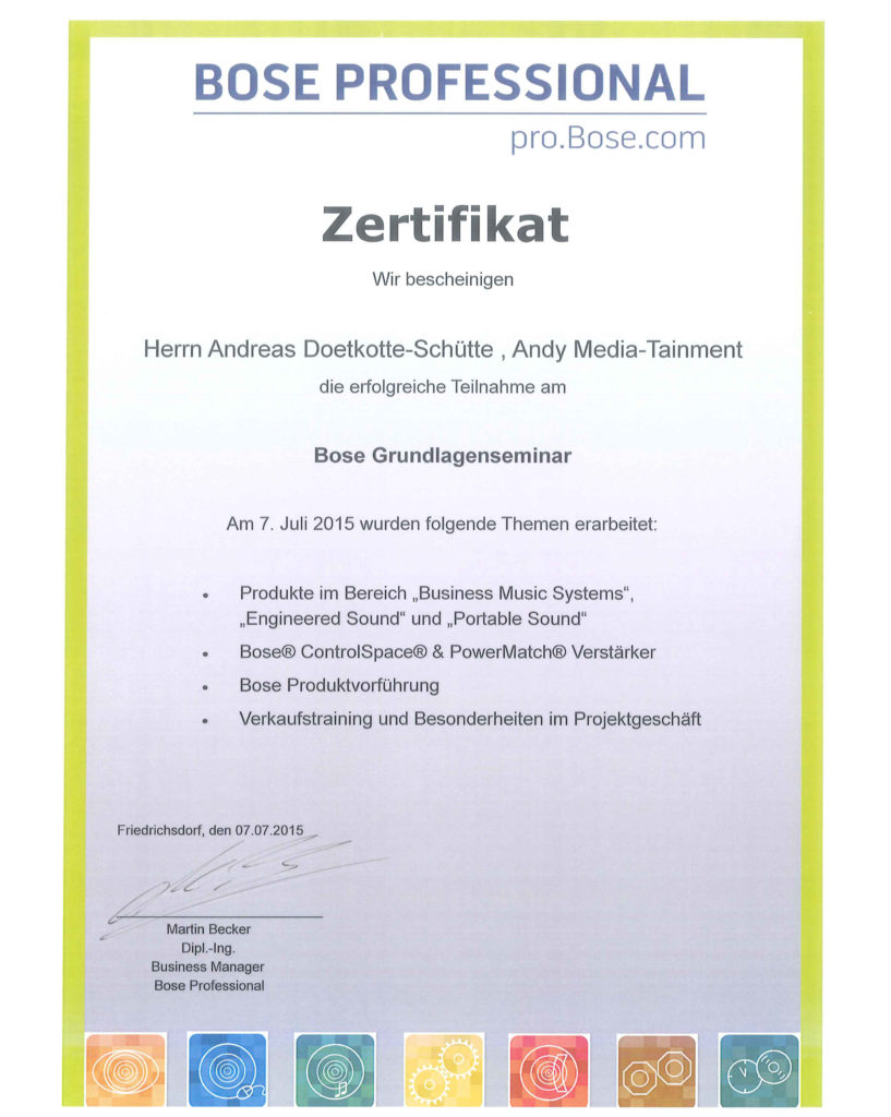 Andy-Mediatainment-BOSE-Zertifikat-1