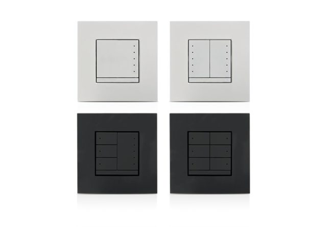 In-Wall 0-10V Dimmer, 230VAC, Anthracite