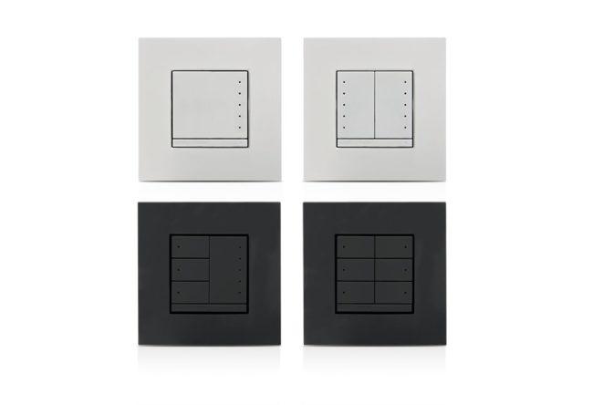 In-Wall 0-10V Dimmer, 230VAC, Weiß