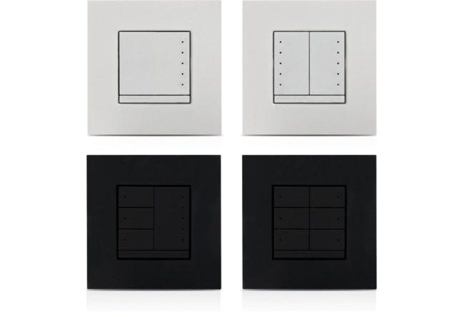 In-Wall-Schalter, 230 VAC, weiß