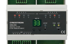 Crestron-DIN-IO8 Eingangmodul