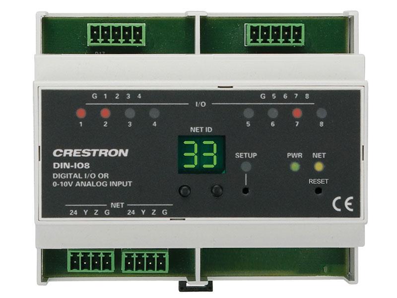 Crestron-DIN-IO8-Produkt