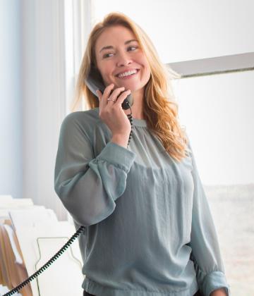 Crestron Flex Telefon mit Hörer