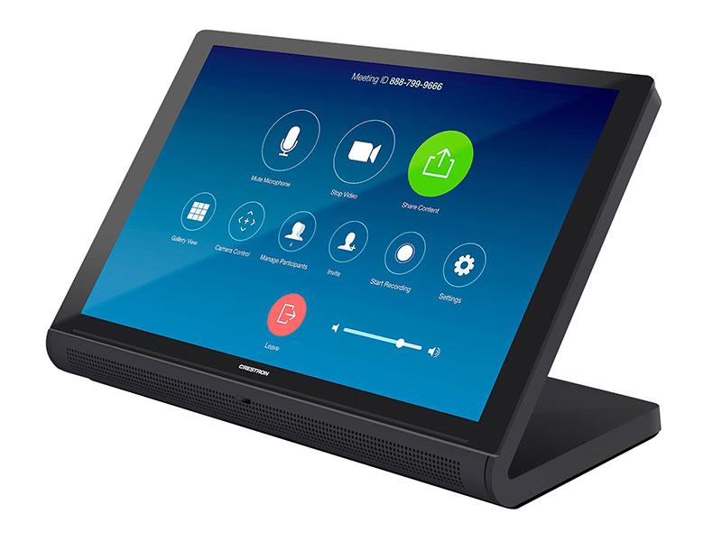 Crestron TS-1070 als Tisch-Touchscreen