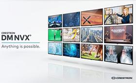 Crestron Videoverteilung mit NVX