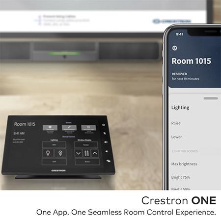 Crestron one app