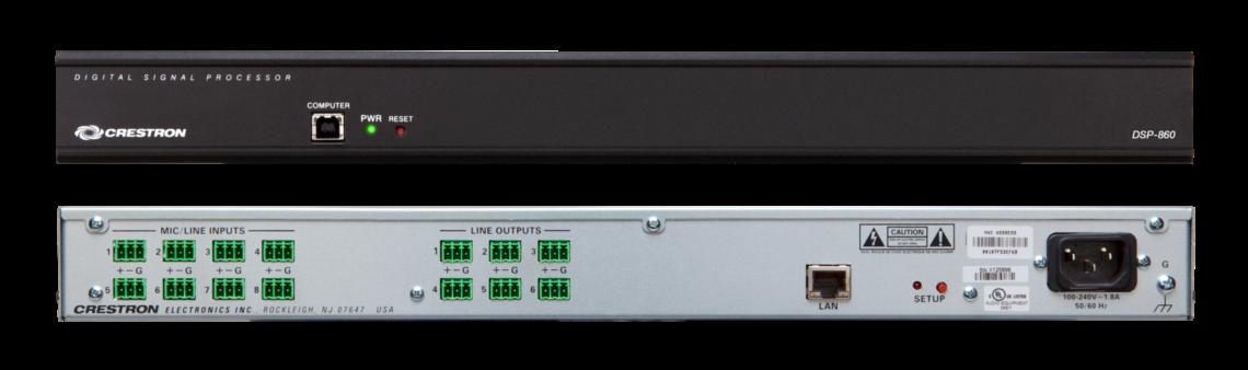 Datenblatt Crestron DSP-860