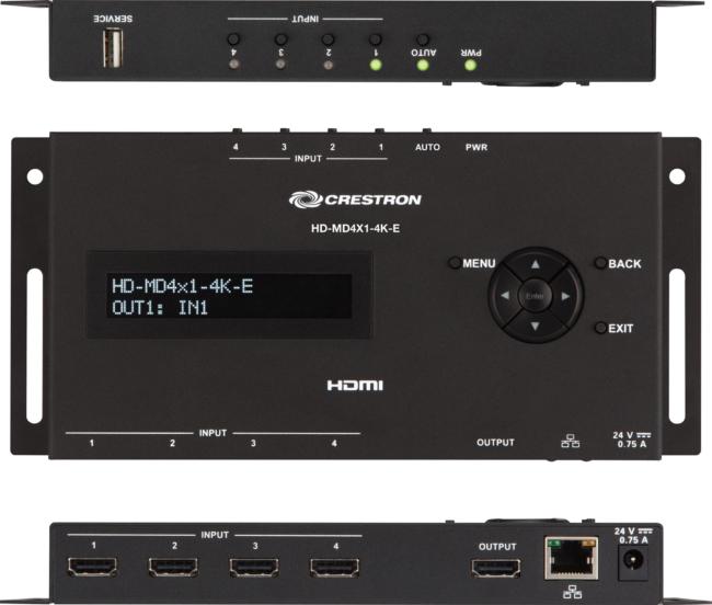 HD-MD4X1-4K-E Videoumschalter