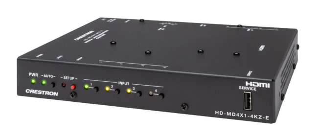 HD-MD4X1-4KZ-E Videoumschalter Front