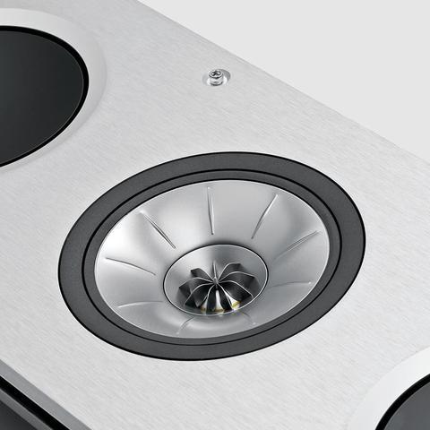 Wandeinbaulautsprecher KEF Ci5160RL-THX mit Uni-Q Technologie für Musik und Heimkino Alublende