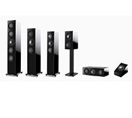 KEF R-Serie Dolby Atmos Set mit ARCAM Receiver