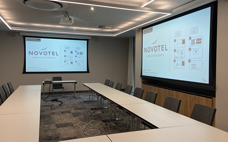 Konferenzraumtechnik-Novotel-Düsseldorf
