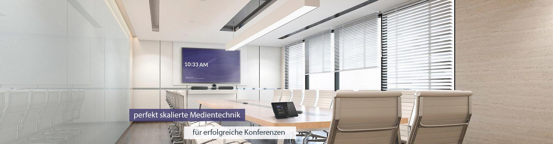 Medientechnik und Konferenzraumtechnik