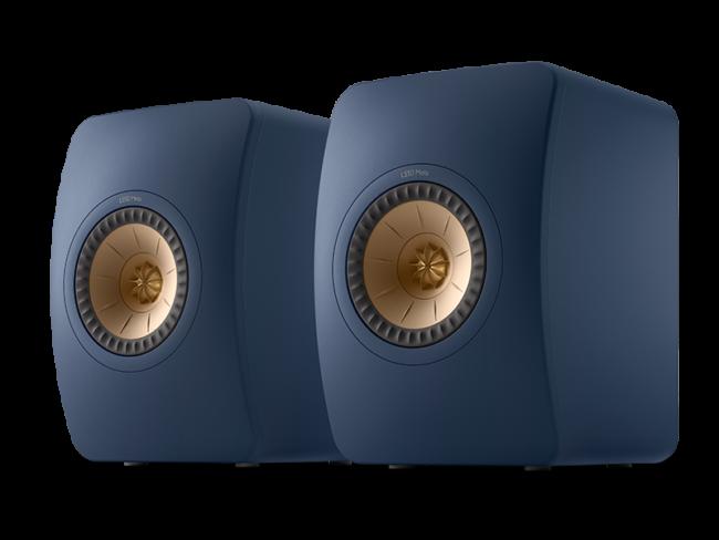 Highend Standlautsprecher KEF LS50 Meta blau