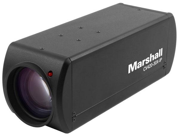 IP-fähige Ultra HD Block-Kamera mit 18-fach Zoom