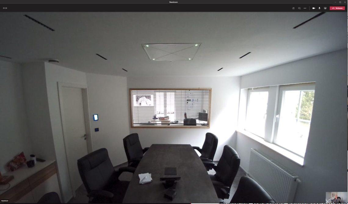 Microsoft Teams Videokonferenz