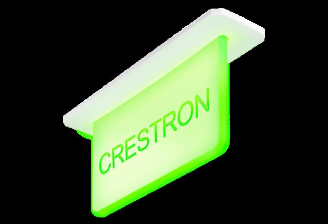 Indikator für Raumbuchungssysteme von Crestron