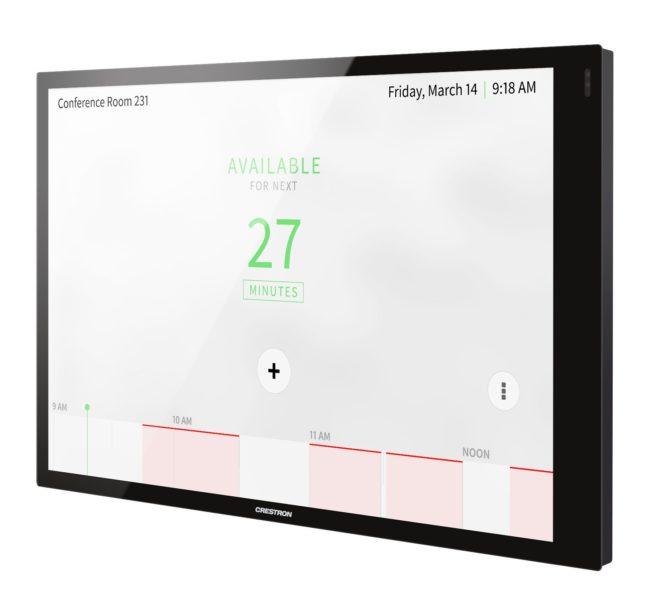 Crestron-TSW-1070 Touchscreen 10 Zoll in schwarz seite