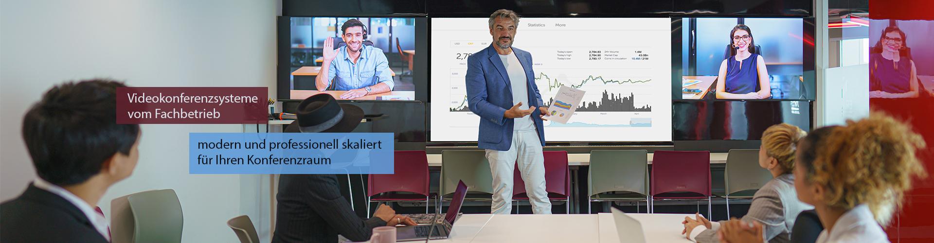 Videokonferenzsysteme fachgerecht skaliert