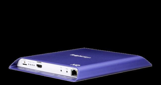 BrightSign XD bietet überlegene Technologie für fortschrittliche Anwendungen, einschließlich 4K-Video Dekodierung, die alle Technologiestandards des True 4K-Ökosystems unterstützt